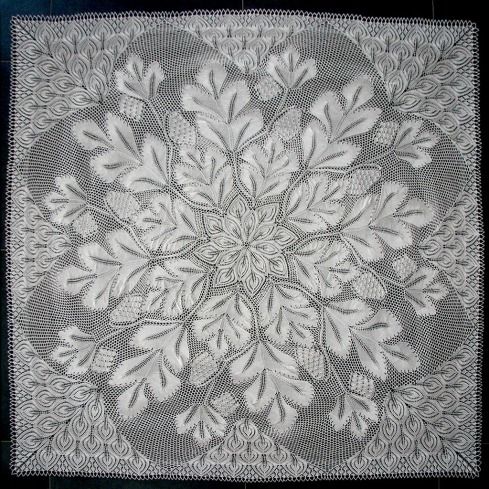 Knitting Pattern For Lace Tablecloth : 301 Moved Permanently