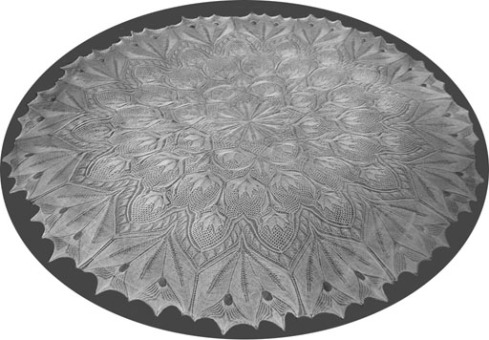 KNITTED LACE TABLECLOTH PATTERNS