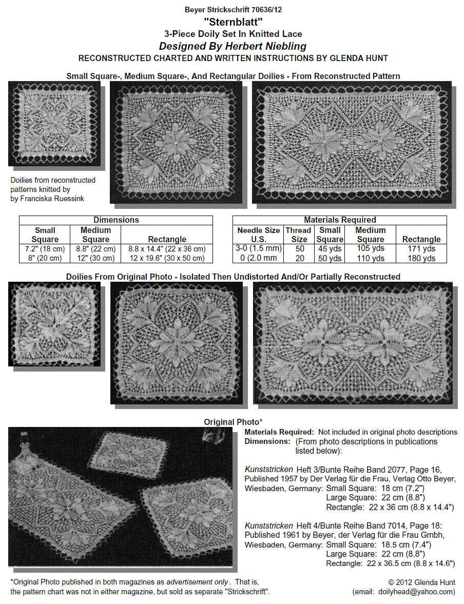 Doily Sweaters. lace knitting | Doilyhead\'s Blog