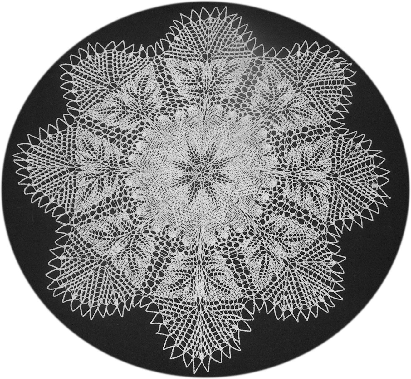 Lace Knitting Patterns In The Round : Doilyheads Blog Adventures In Lace Knitting (?or Raising Herbert Niebl...